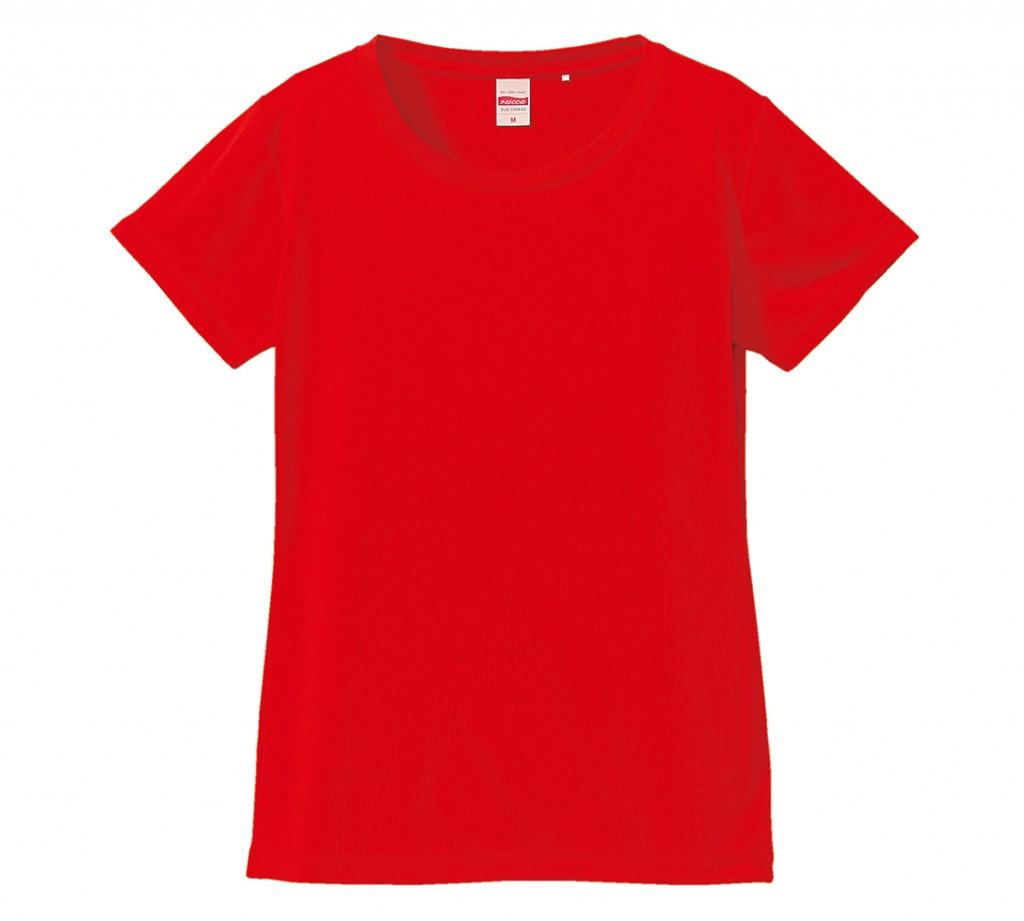 5088-04 4.7オンス ドライ シルキータッチ XラインTシャツ(ガールズ)