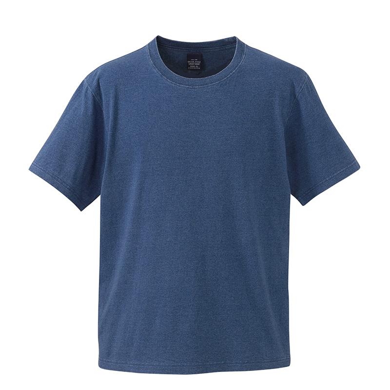 3990-01 5.3オンス インディゴ Tシャツ