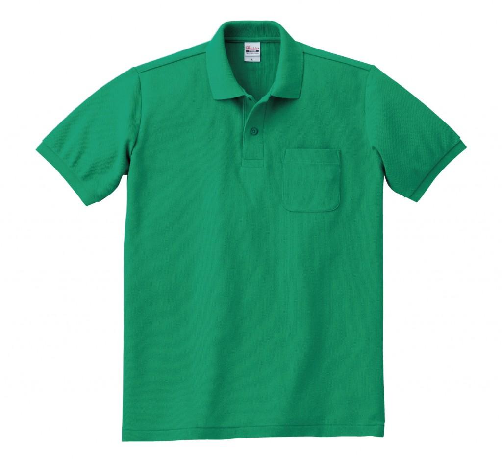 00100-VP T/Cポロシャツ(ポケット有り)