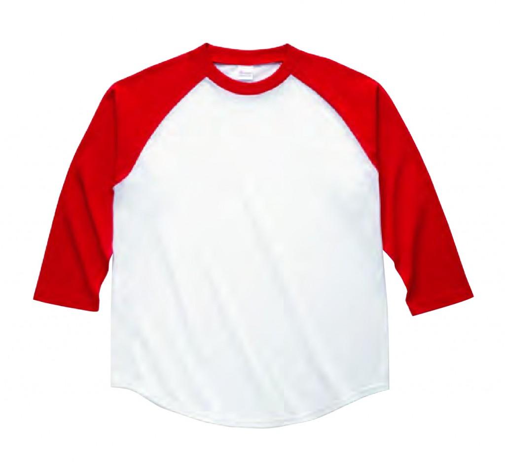 00138-RBB ラグランベースボールTシャツ