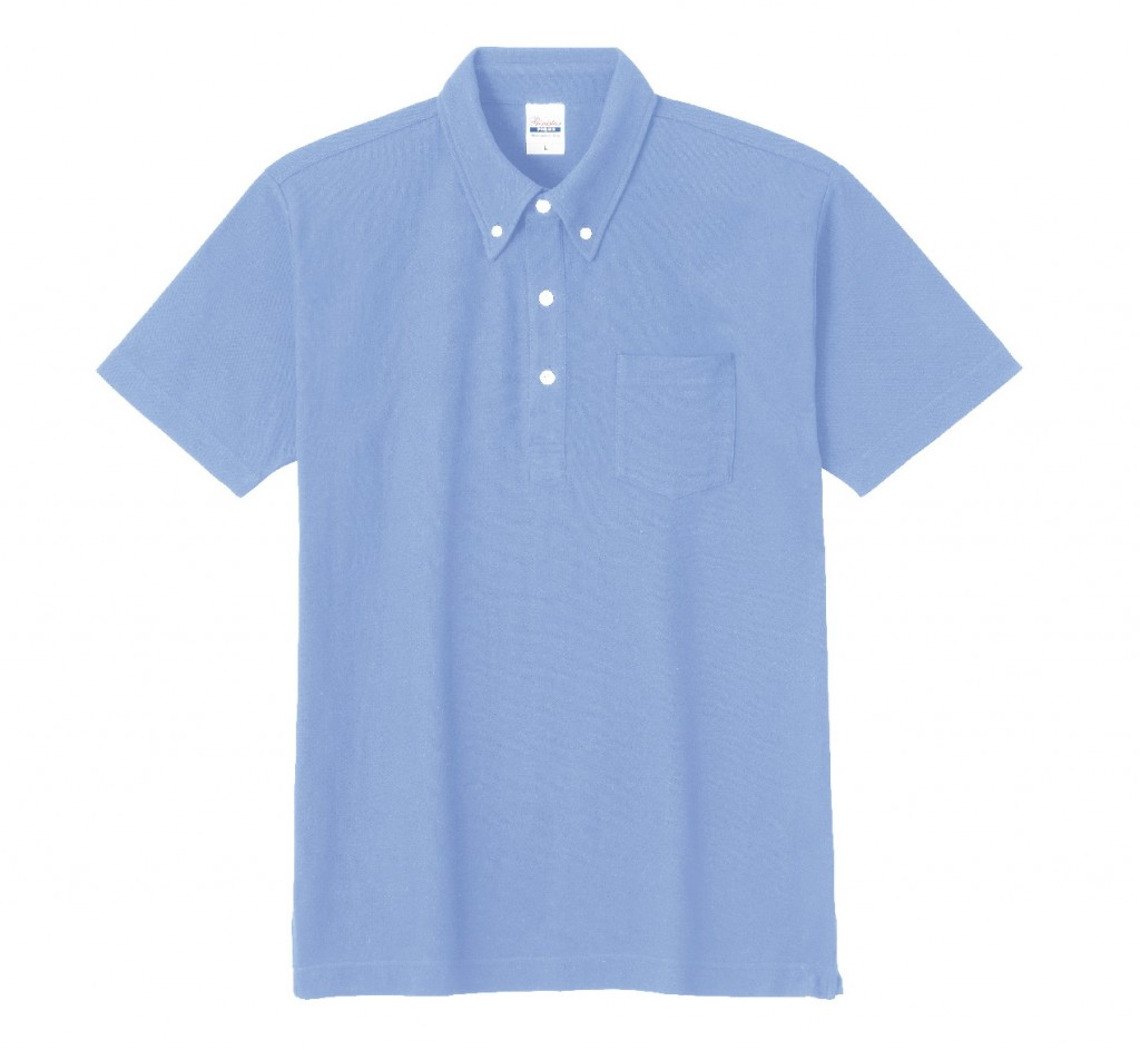 00225-SBP スタンダードB/Dポロシャツ(ポケット付)