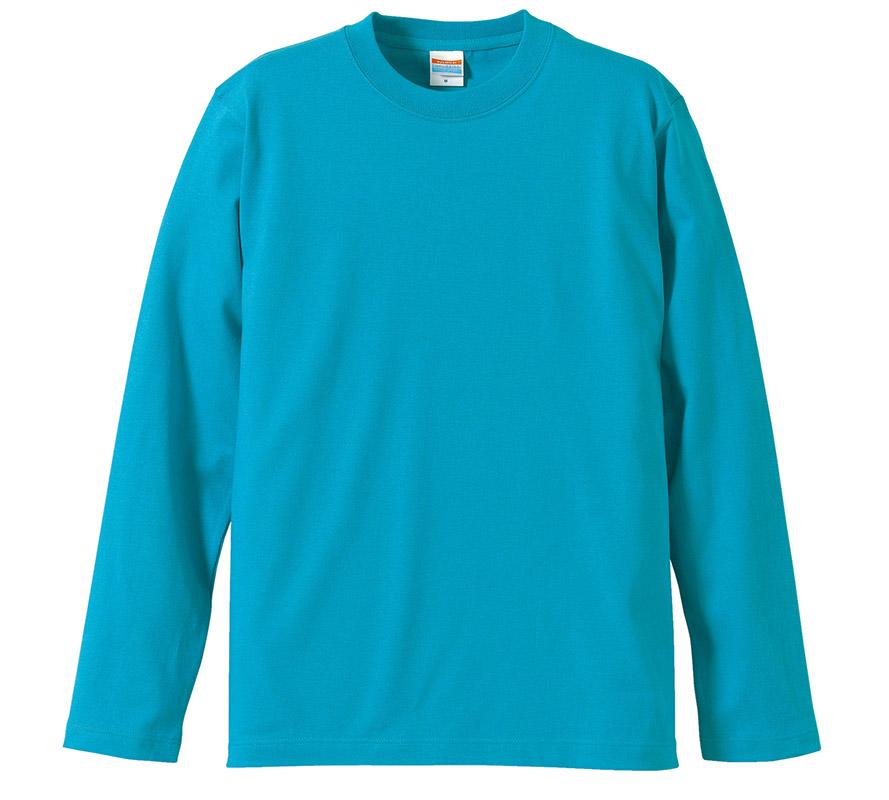 5010-01  5.6オンス ロングスリーブ Tシャツ(リブ無し)