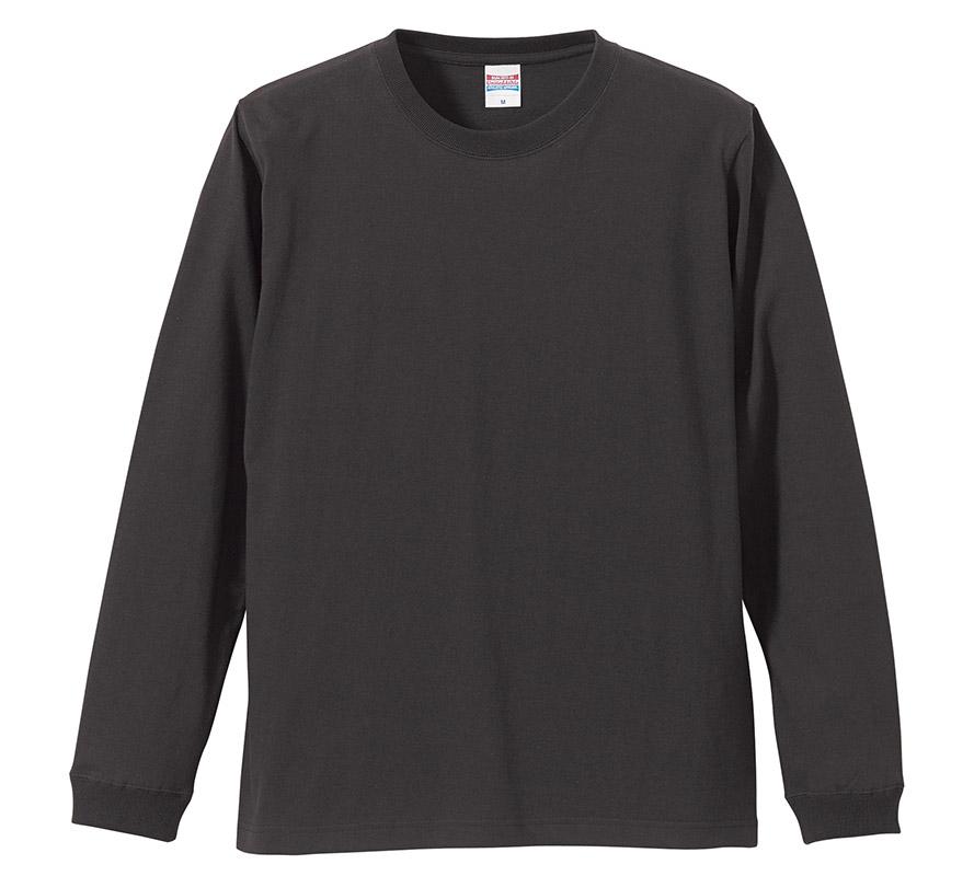 5011-01,  5.6オンス ロングスリーブ Tシャツ(1.6インチリブ)