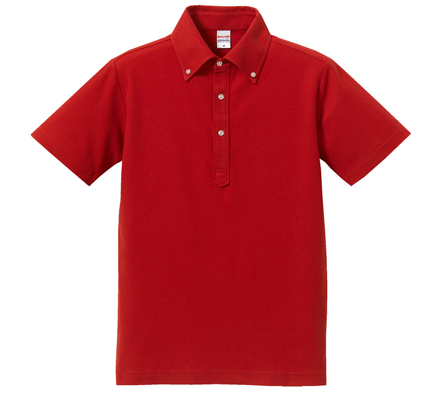 5052-01 5.3オンス ドライカノコ ユーティリティー ポロシャツ(ボタンダウン)