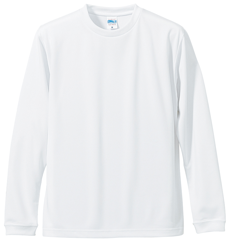 5089-01 4.7オンス ドライ シルキータッチ ロングスリーブ Tシャツ(ローブリード)