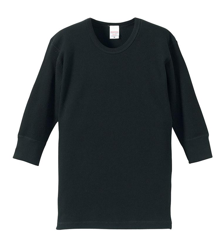 5488-01  5.6オンス ワッフル 1/2スリーブ Tシャツ