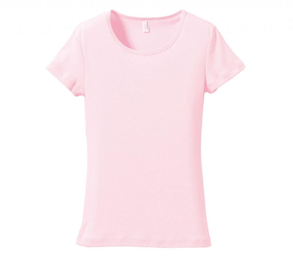 5490-04  6.2オンス CVC フライス Tシャツ(ガールズ)