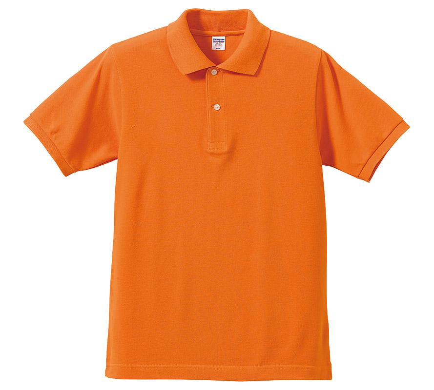 5542-01  7.6オンス ヘヴィーウェイト コットン ポロシャツ