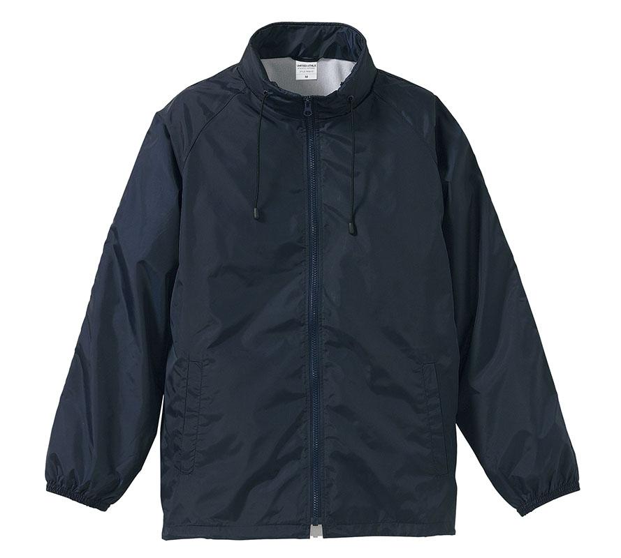 7056-01  ナイロン スタンド ジャケット(フードイン)(裏地付)