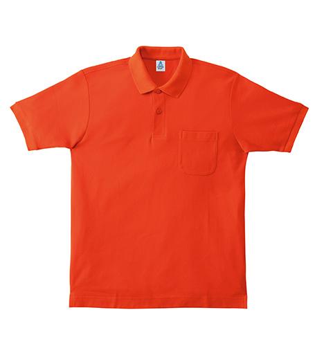 MS3114 ポケット付CVC鹿の子ドライ ポロシャツ