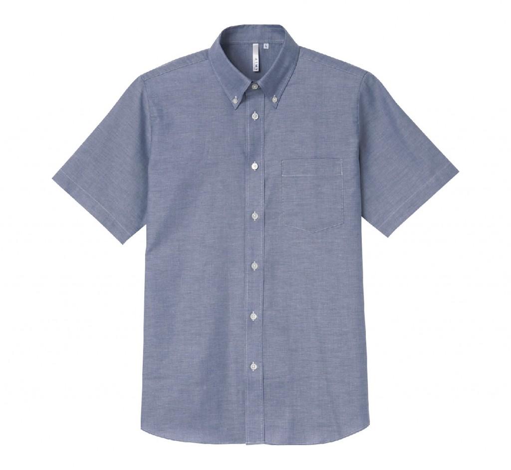 00805-SOM 半袖オックスフォードシャツ(メンズ)