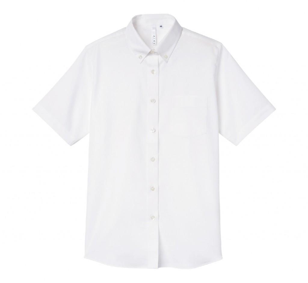 00806-SOL 半袖オックスフォードシャツ(レディース)