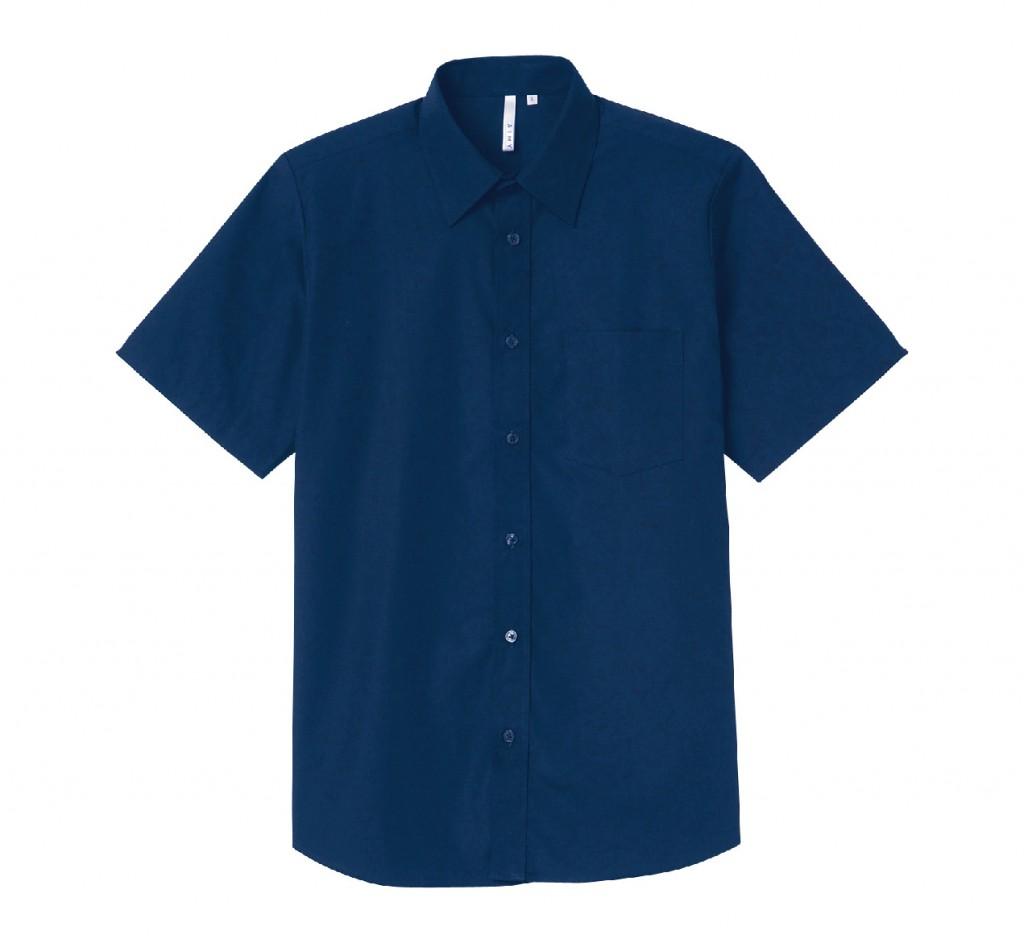 00809-SBM 半袖ブロードシャツ(メンズ)