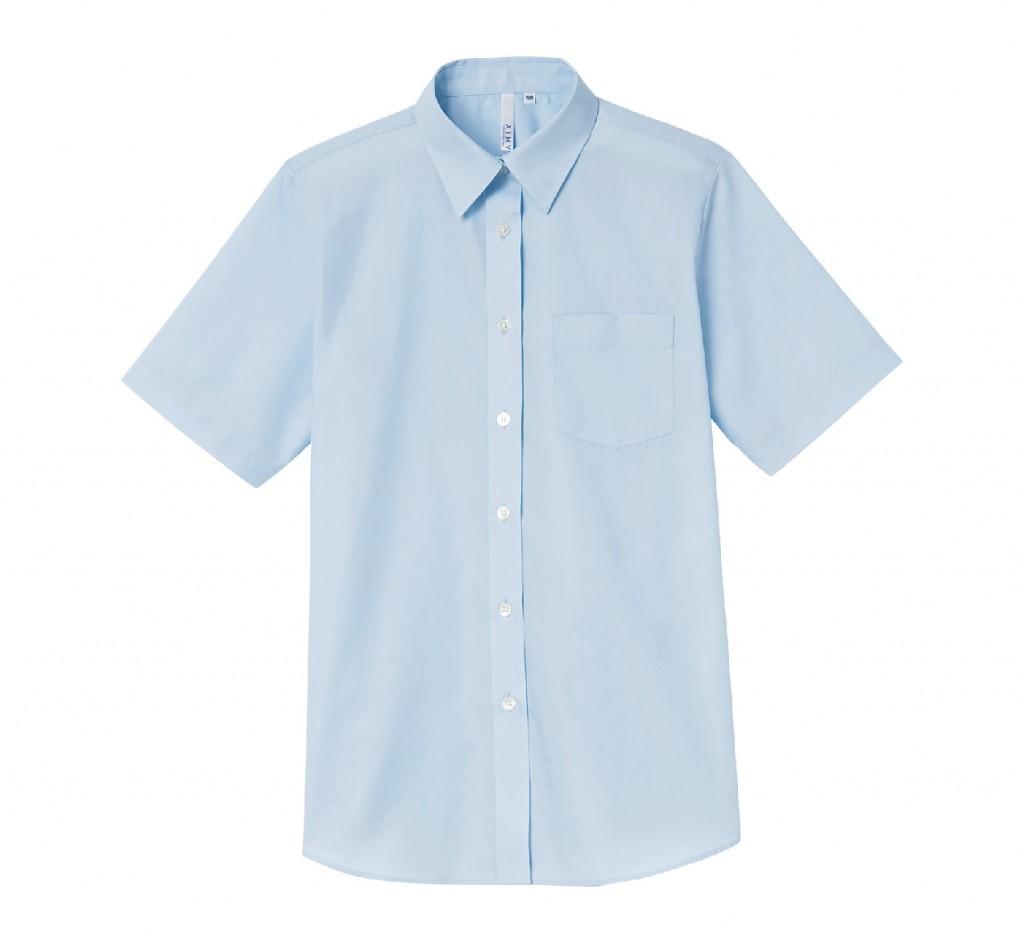 00810-SBL 半袖ブロードシャツ(レディース)