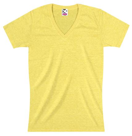 CR1106 トライブレンドVネックTシャツ
