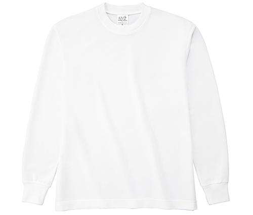 HNC-204 ハニカム長袖Tシャツ(リブ有り)