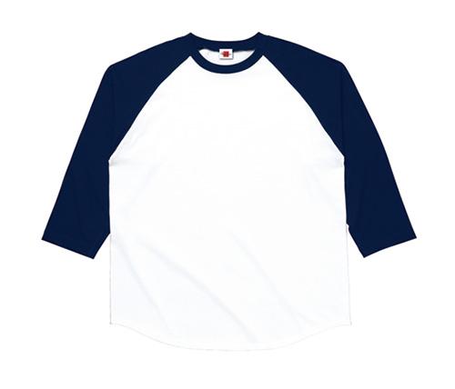 MS1601 ラグランベースボール3/4スリーブ Tシャツ