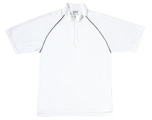 MS313 メンズトップクールジップアップシャツ