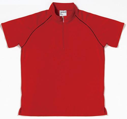 MSL502 レディーストップクールジップアップシャツ