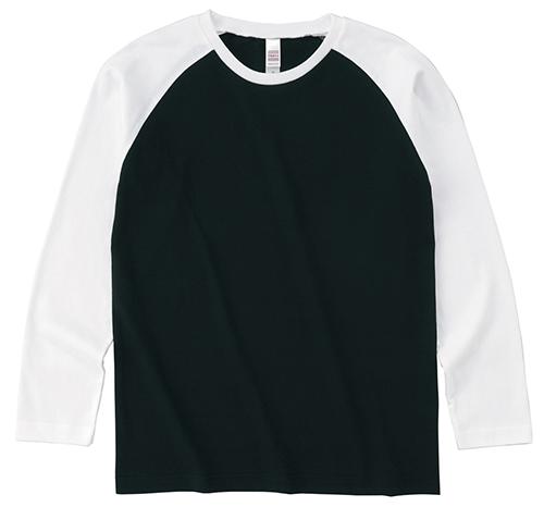 OE1212 オープンエンド ラグラン ロングスリーブ Tシャツ
