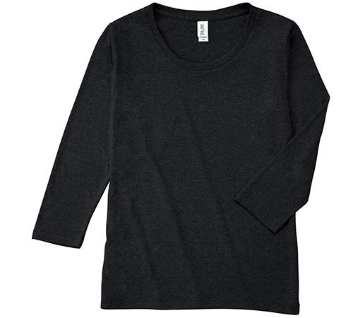 TBL-117 トライブレンド 3/4スリーブ Tシャツ(レディース)