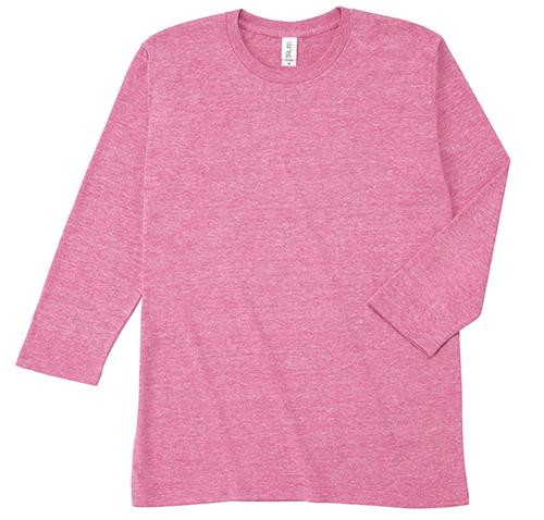 TBL-118 トライブレンド 3/4スリーブ Tシャツ