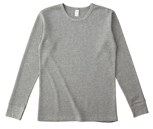 TML-130 ワッフル ロングスリーブ Tシャツ