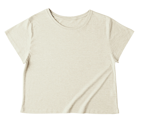 TWD-134 トライブレンド ワイド Tシャツ(レディース)
