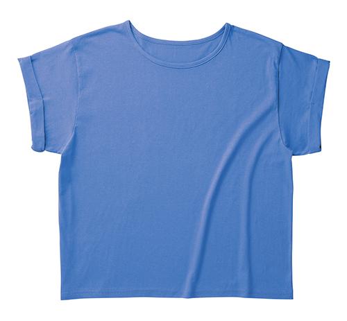 WRU-806 ウィメンズ ロールアップ Tシャツ