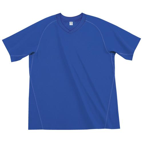 15852 ドライメッシュ VネックTシャツ
