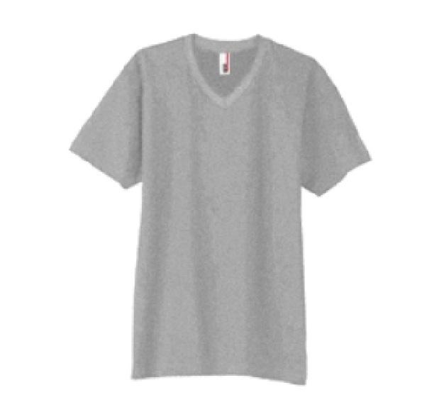 T0982 4.5oz ソフトスパン VネックTシャツ(TEAR AWAY)