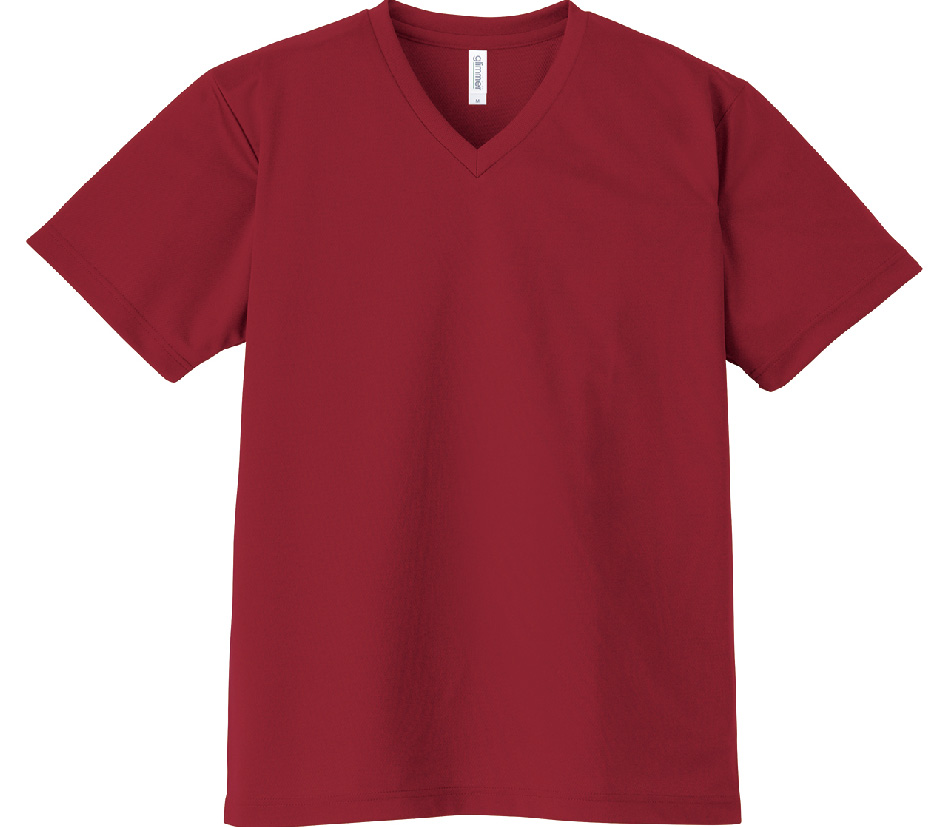 00337-AVT 4.4oz ドライVネックTシャツ
