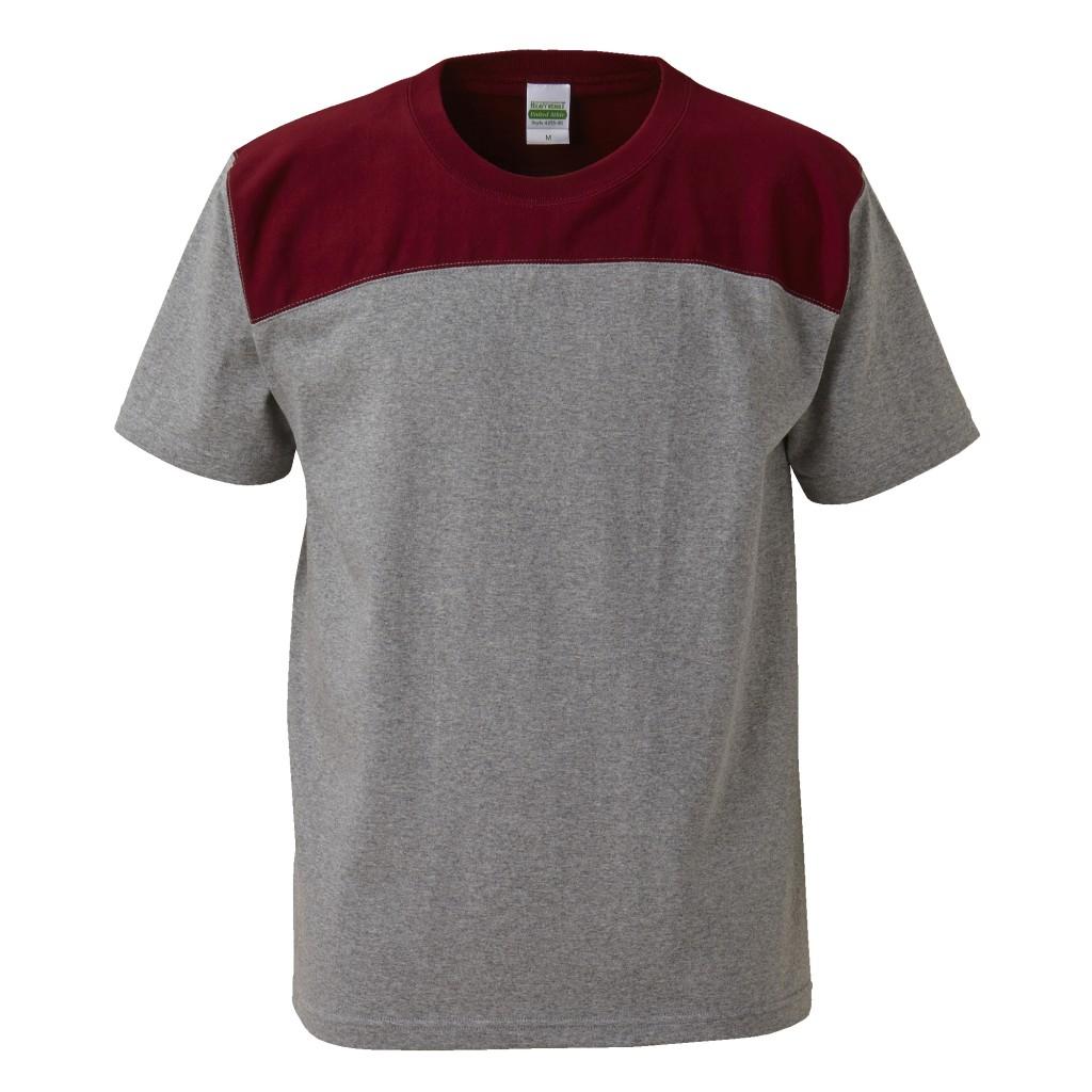 4255-01 7.1オンス オーセンティック スーパーへヴィーウェイト フットボール Tシャツ