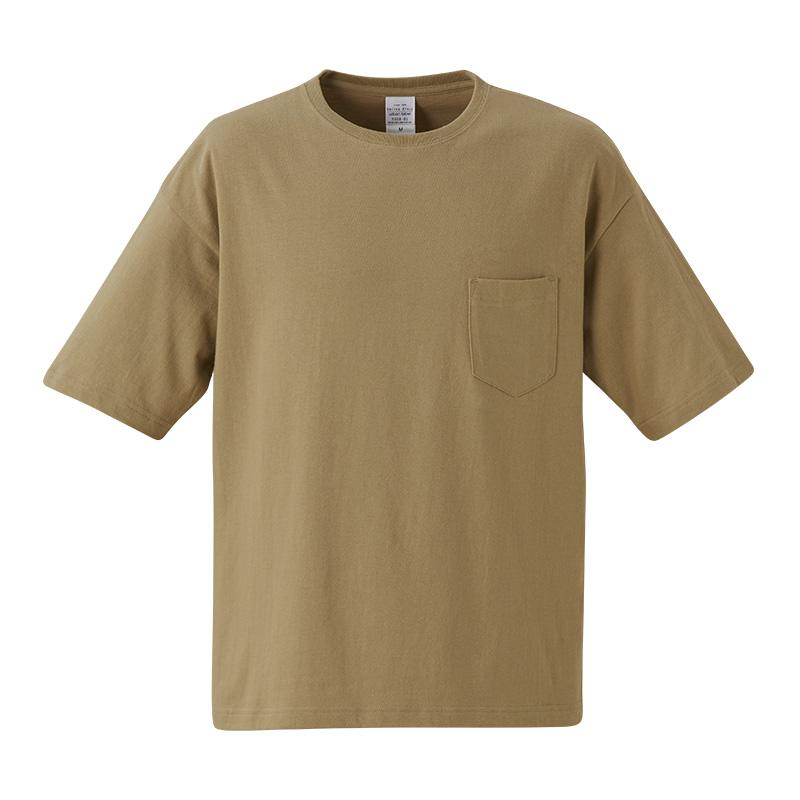 5008-01 5.6オンス ビックシルエット Tシャツ(ポケット付)