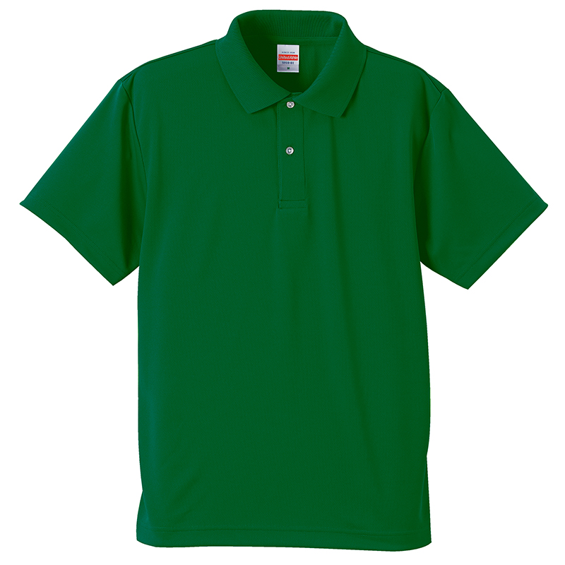 5910-01  4.1オンス ドライ アスレチック ポロシャツ