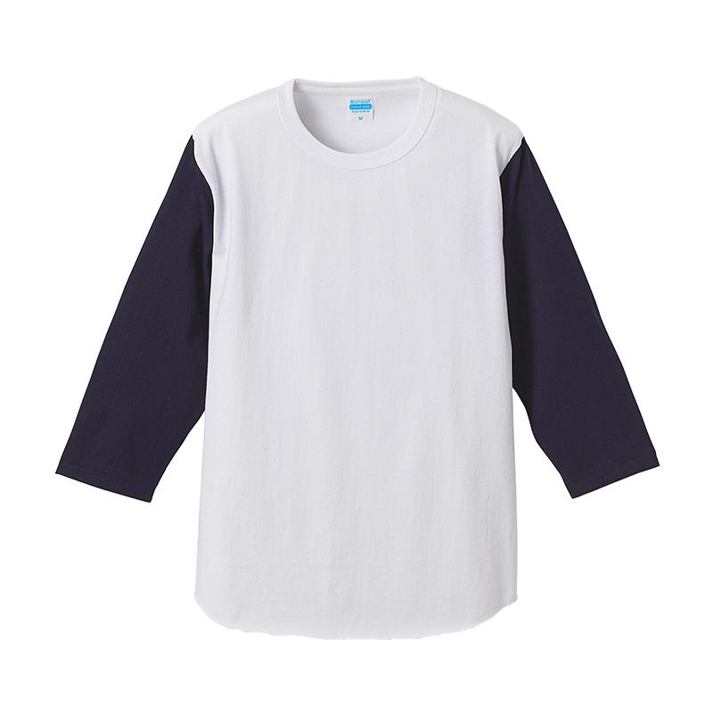 4256-01 7.1オンス スーパーへヴィーウェイト ベースボール 3/4スリーブ Tシャツ