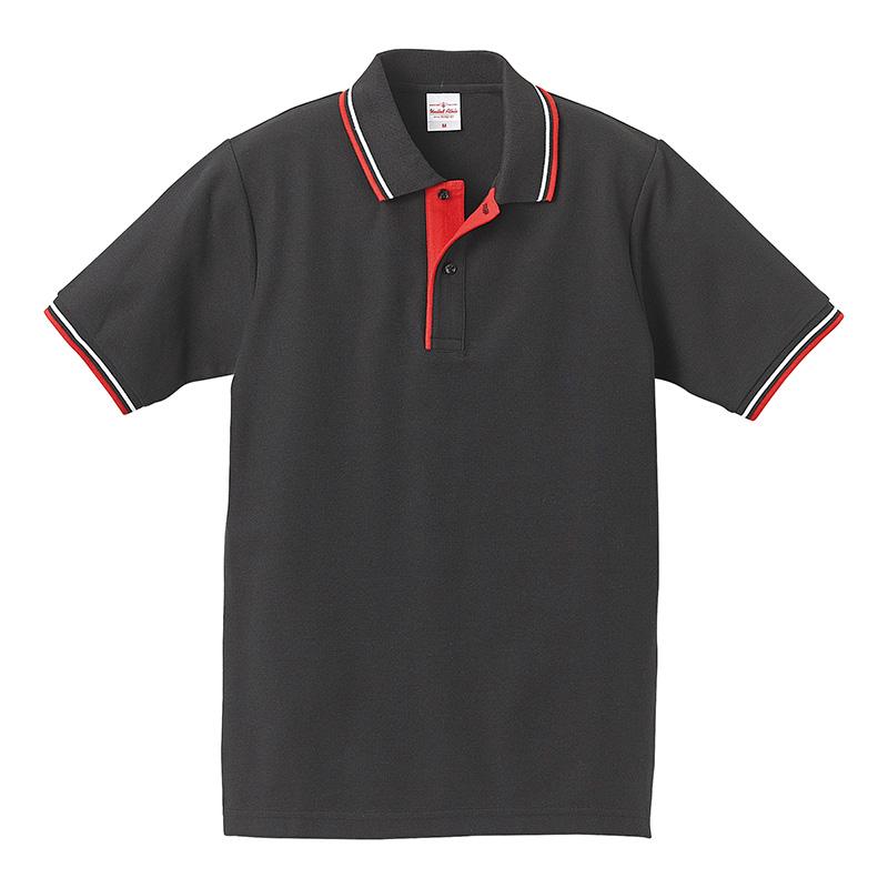 5192-01 6.2オンス ハイブリッド ライン ポロシャツ
