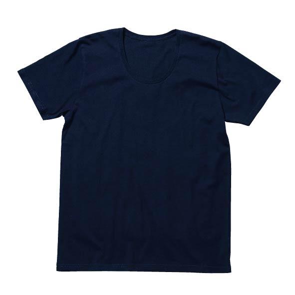 MS0303 オーガニックコットンUネックTシャツ