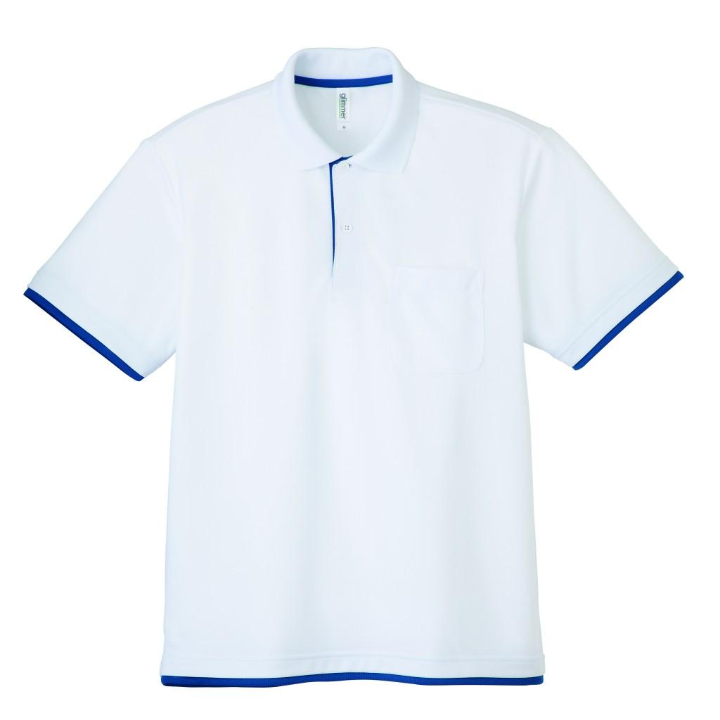 00339-AYP 4.4ozドライレイヤードポロシャツ