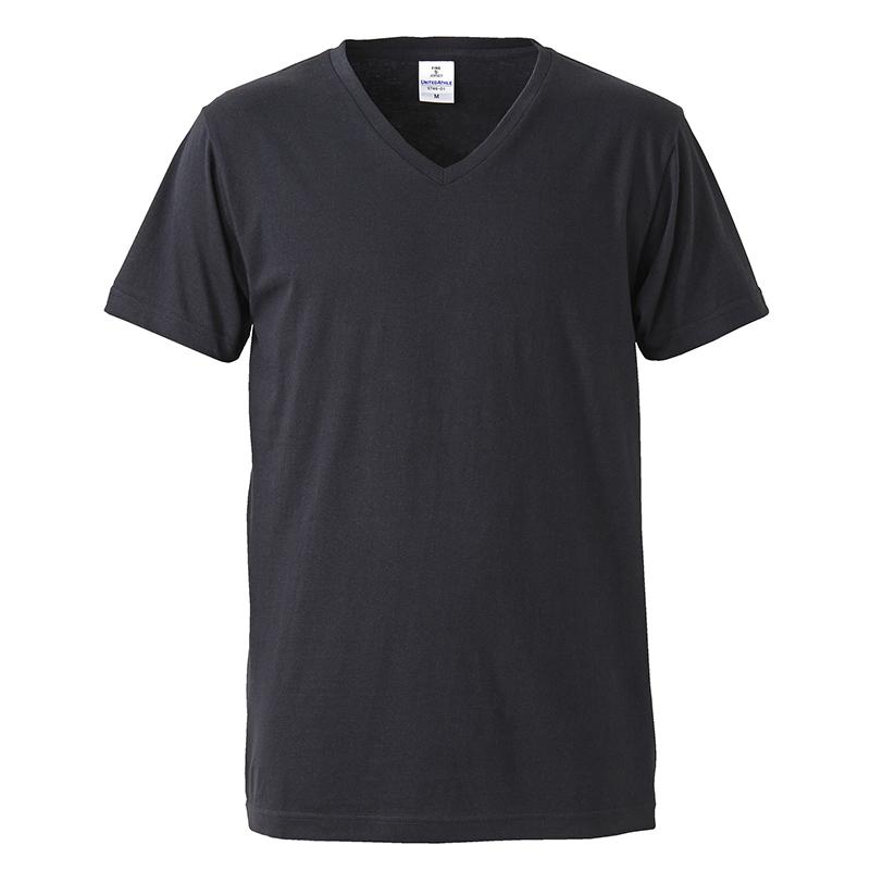 5746-01 4.7オンス ファインジャージーVネック Tシャツ