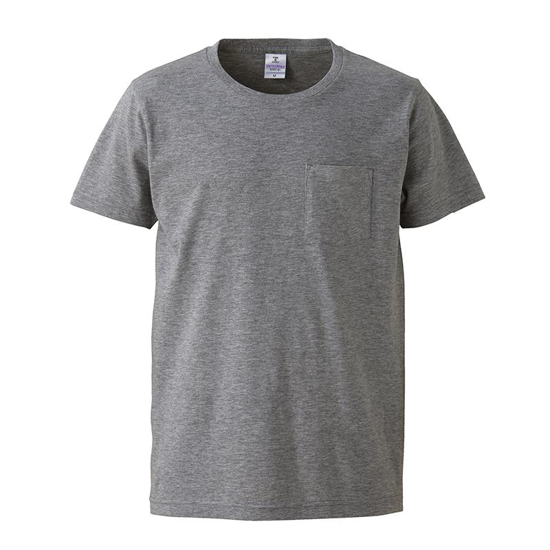 5747-01 4.7オンス ファインジャージーTシャツ(ポケット付)