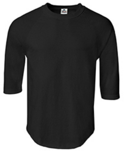 T1334   6oz 7分袖ラグランTシャツ