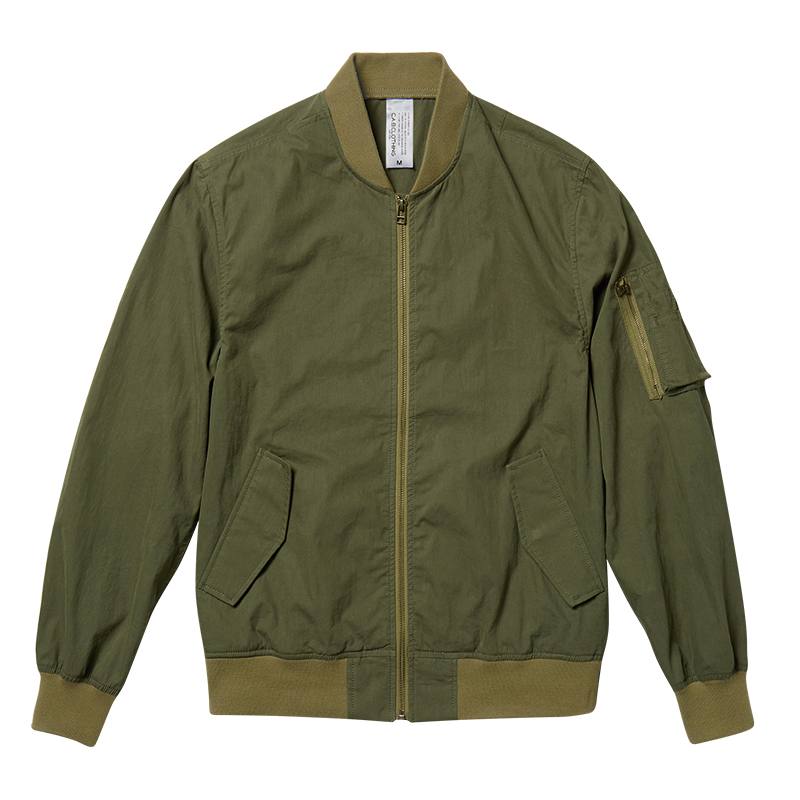 1450-01 N/C ライト MA-1ジャケット(一重)