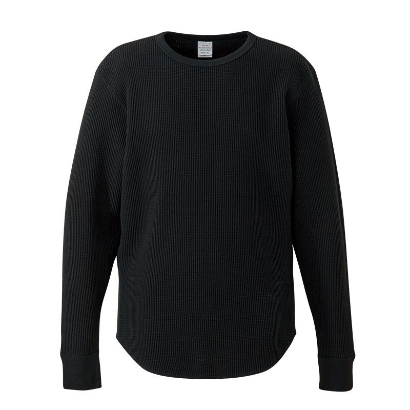 3960-01  10.3オンス ヘヴィーウェイト ワッフル ロングスリーブ Tシャツ