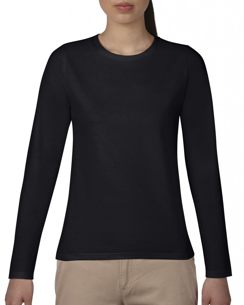 76400L レディース長袖Tシャツ Gildan® Japan Fit (レディース)