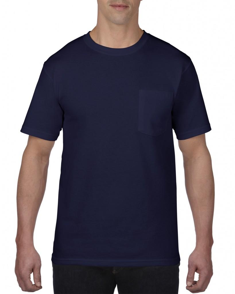 783 アダルト ミッドウエイト ポケットTシャツ アメリカンフィット
