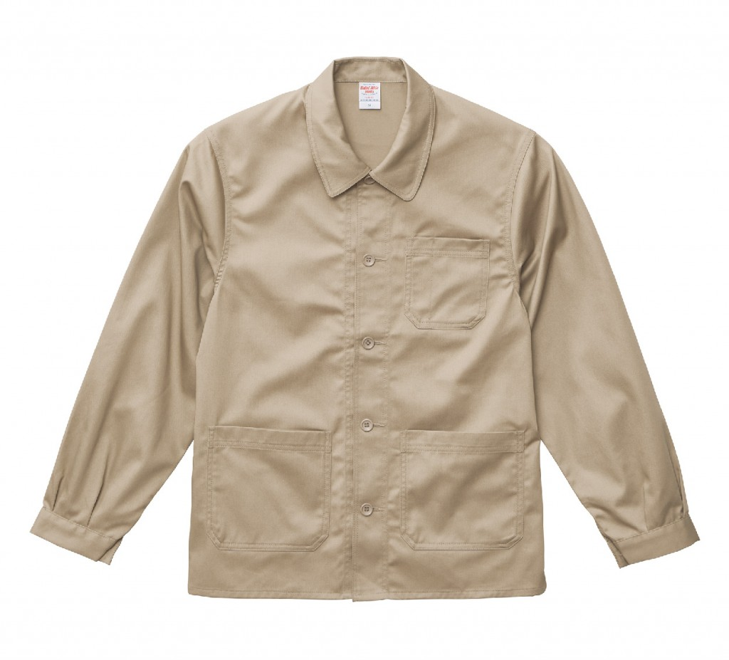 7452-01 T/C カバーオールジャケット