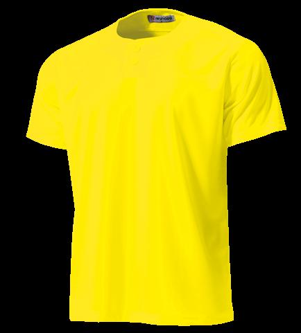 P-2710 セミオープンベースボールシャツ