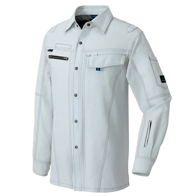AZ-30435 長袖シャツ(男女兼用)