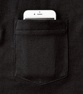 ポケット W約11×H約13.5cm